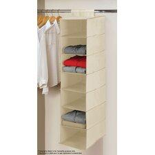 Beige 7 Tier Hanging Shelf