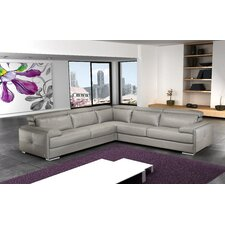 Gary Leather Sectional