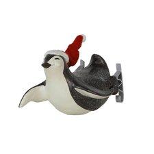 Lying Penguin Figurine