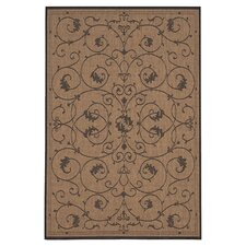 Recife Veranda Cocoa Indoor/Outdoor Area Rug