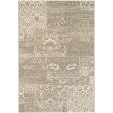 Afuera Country Cottage Beige & Ivory Indoor/Outdoor Area Rug