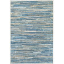 Monaco Alassio Sand/Azure Indoor/Outdoor Area Rug