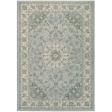 Traditions Namur Light Blue/Ivory Area Rug