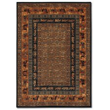 Old World Classics Pazryk Burnished Rust Area Rug