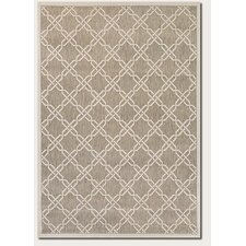 Five Seasons Sun Island Gray/Cream Area Rug