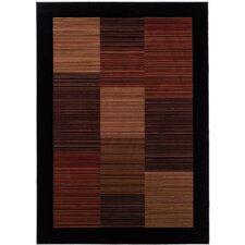 Everest Hamptons Black & Brown Area Rug