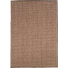 Recife Saddle Stitch Cocoa Indoor/Outdoor Area Rug