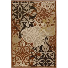 Urbane Gatesby Tan & Terracotta Indoor/Outdoor Area Rug