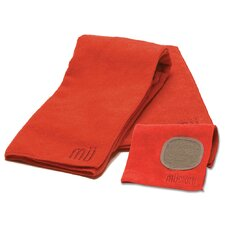 MUmodern 3 Piece Dishtowel Set in Crimson
