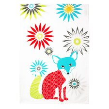 Fox Designer Print Towel (Set of 2)
