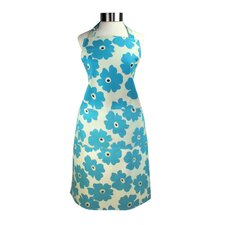 MUincotton Blue Poppy Full Apron