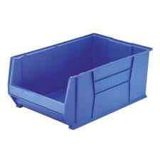 Super-Size Storage Bin, Stackable, Blue, 2 Sizes