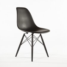The Mid Century Side Chair in Black
