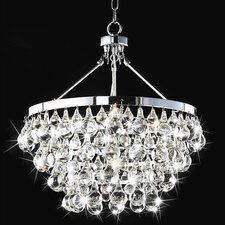Ceres 5 Light Crystal Chandelier