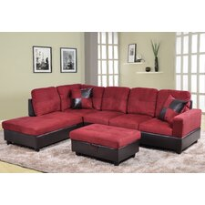 Della Sectional (Set of 3)