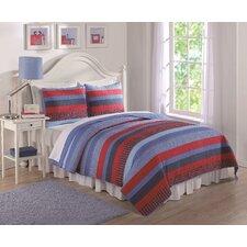Sebas Stripe Quilt Set