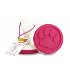 Paw Silicone Cookies and Fondant Stamp