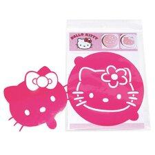 Hello Kitty 2 Piece Cake Stencils Set