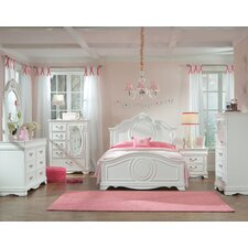 Jessica Panel Customizable Bedroom Set