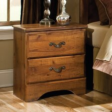 Hester Heights 2 Drawer Nightstand