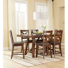 Omaha Counter Height Extendable Dining Table