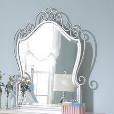 Spring Rose Kids Crowned Top Dresser Mirror