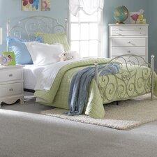 Spring Rose Panel Customizable Bedroom Set