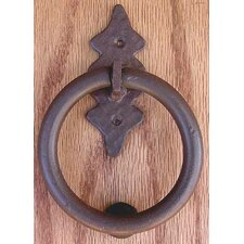 Smooth Back Ring Knocker Pull