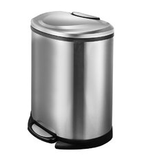50 Liter Semi-Round Trash Can