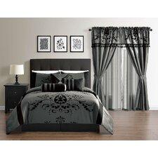 Leta Collection 7-Piece Comforter Set