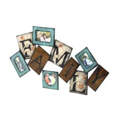 Rustic Metal Wall Picture Frame