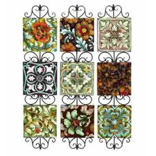 Toscana Assorted Plates Wall Décor (Set of 3)