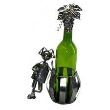 Man and Barrel 1 Bottle Tabletop Wine Rack