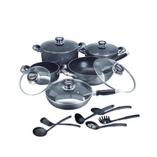 16 Piece Complete Nonstick Cookware Set