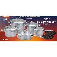 Vitesse Tri-Ply 12 Piece Cookware Set