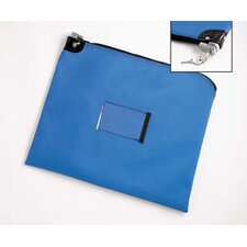 Heavy Duty Vinyl Mail Bag with Built in Lock (keyed alike)