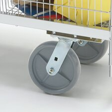Premium Grey Heavy Duty Swivel Plate Caster