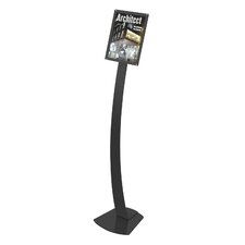 Contemporary Floor Sign Stand