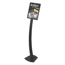 Oversize Contemporary Floor Sign Stand
