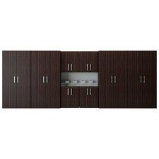 6' H x 16' W Jumbo Cabinet Storage Station