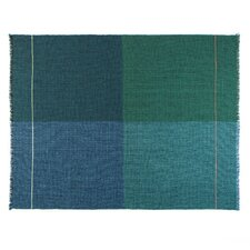 Integrate Time and Space Quaternio Wool Throw Blanket