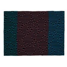 Bitmap Zoom Out Wool Blanket