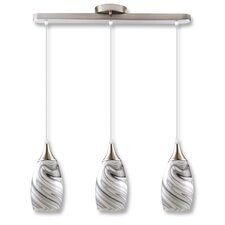 Peak 3 Light Kitchen Island Pendant