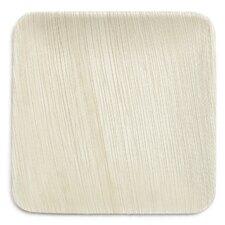 "8"" Compostable Eco Friendly Palm Leaf Plate (Set of 25)"