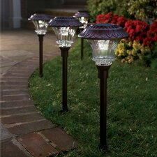Solar Led Path Light (Set of 4)