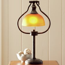 """Library 10"""" Table Lamp with Bowl Shape"""