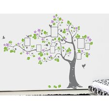 Big Photo Tree Wall Decal