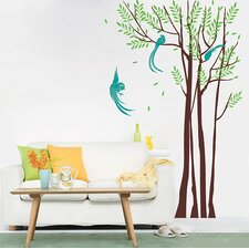 Phoenix in The Forest Wall Decal