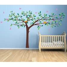 Colorful Super Big Tree Removable Vinyl Art Wall Decal