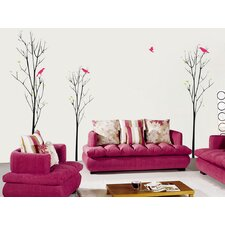 Young Trees Beautiful Wall Decal